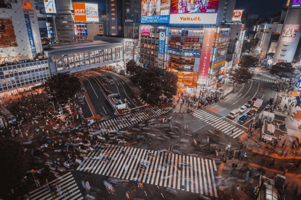 中田 暖人:東京の街並み