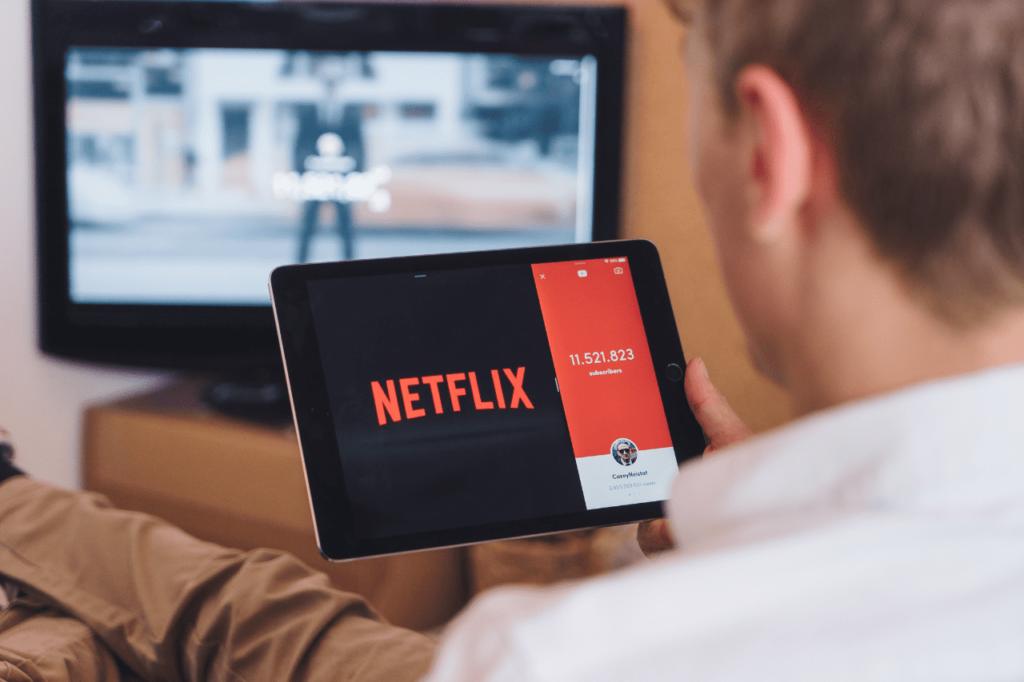 中田 暖人:Netflixを見る人
