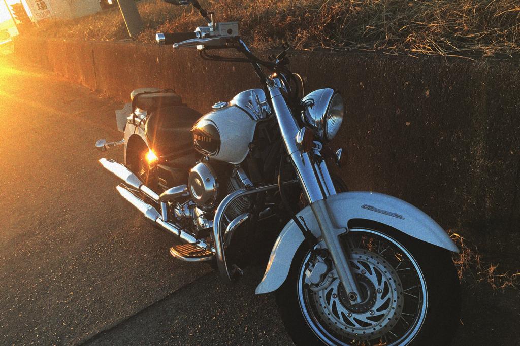 中田ハルトのバイク