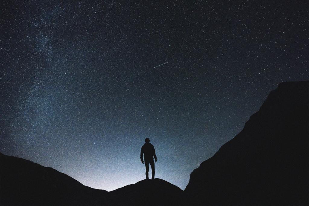 中田 暖人:星空を眺める人